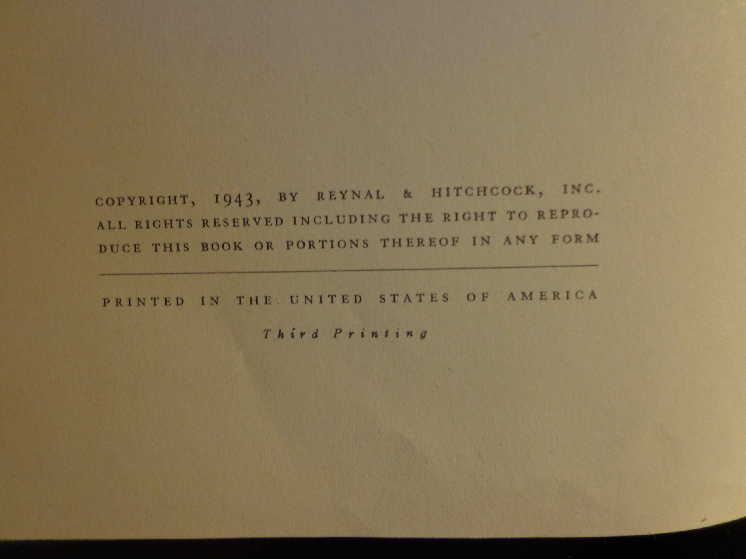 1943 THE LITTLE PRINCE Antoine De Saint-Exupery 1st first Harcourt Ed orig DJ