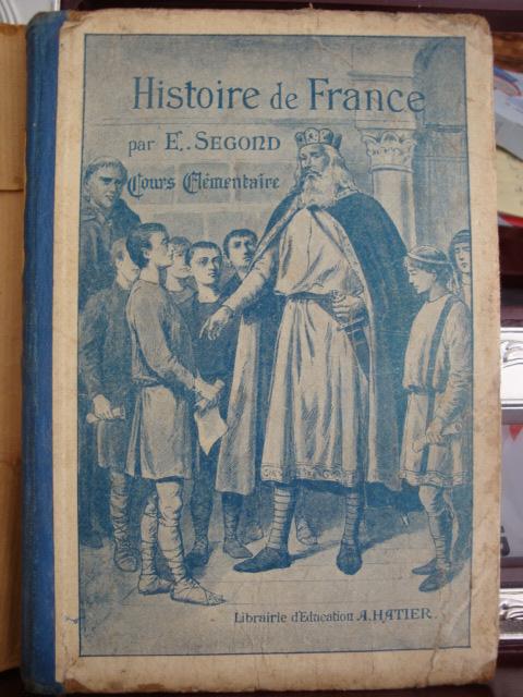 E Segond Histoire De France Cours Elementaire Segond E